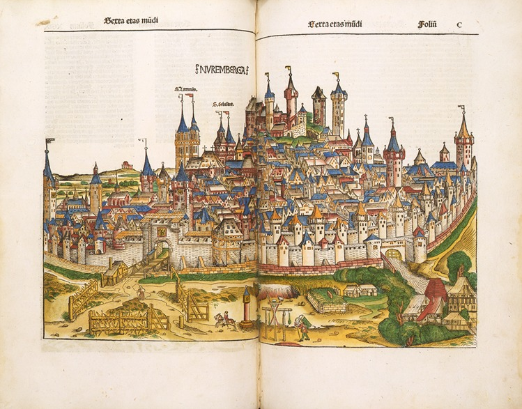 Michael Wolgemut,, Nuremberg and Augsburg Chronicles