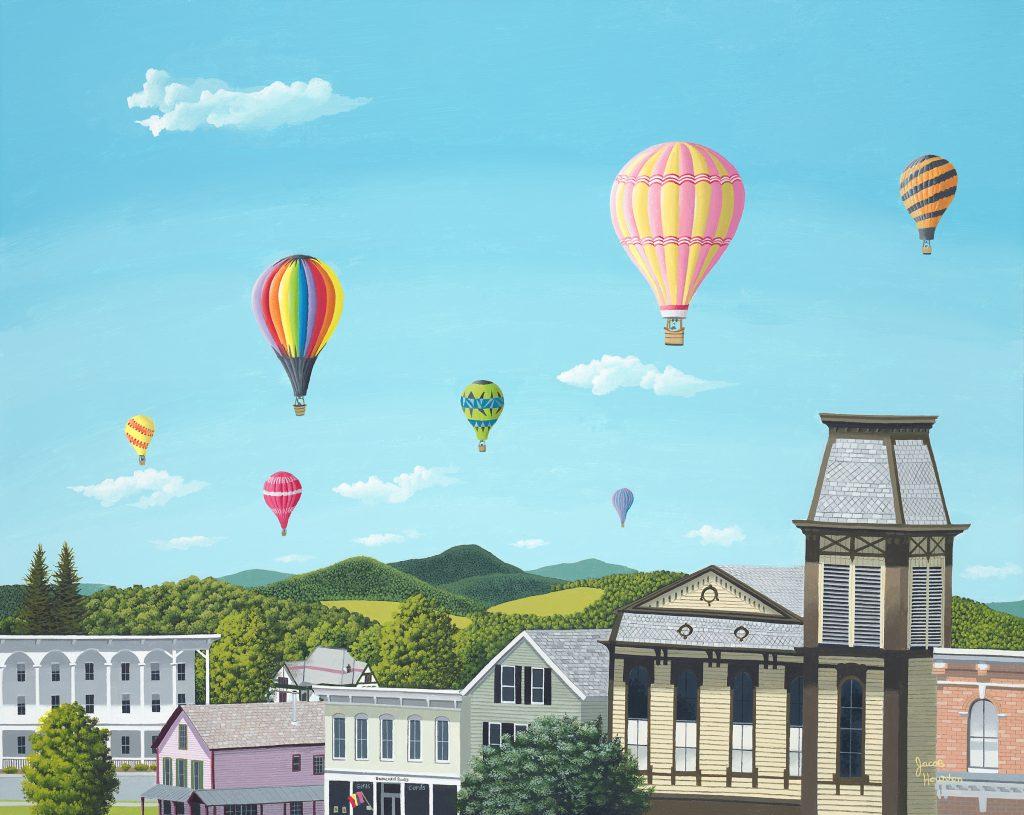 Jacob Houston, Balloons Over Cambridge
