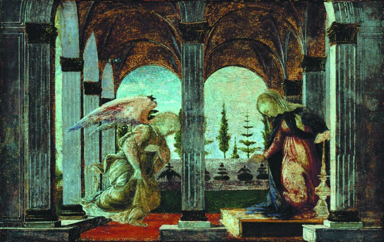 Visit Botticelli painting, right here in Glens Falls - The