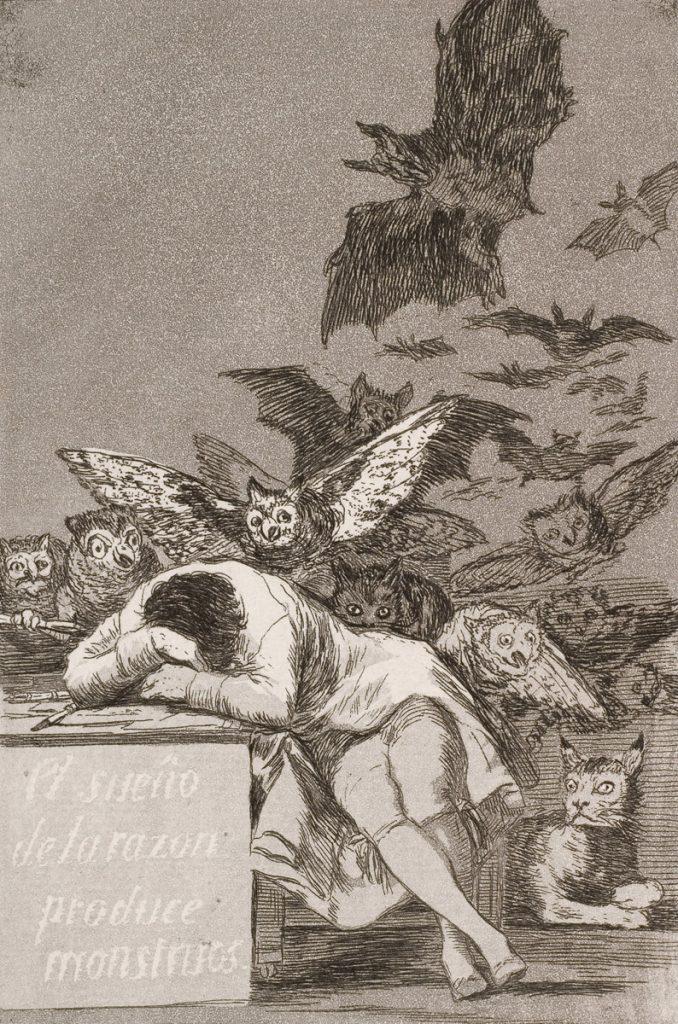 Francisco Goya, Sleep of Reason