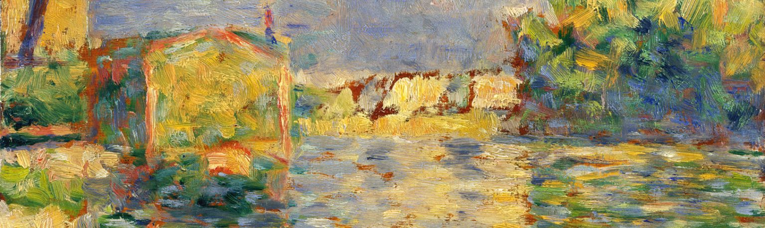 The Bank of the Seine by George Seurat